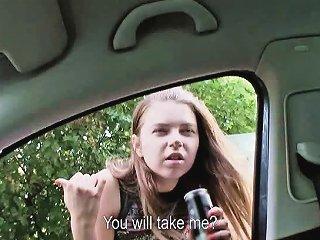 Shy Marina Visconti Has Sex With Driver