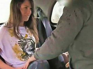 Hairy Pussy British Amateur Fucked In Fake Taxi