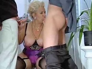German Busty Mature Fucks Dad And Son Porn E0 Xhamster